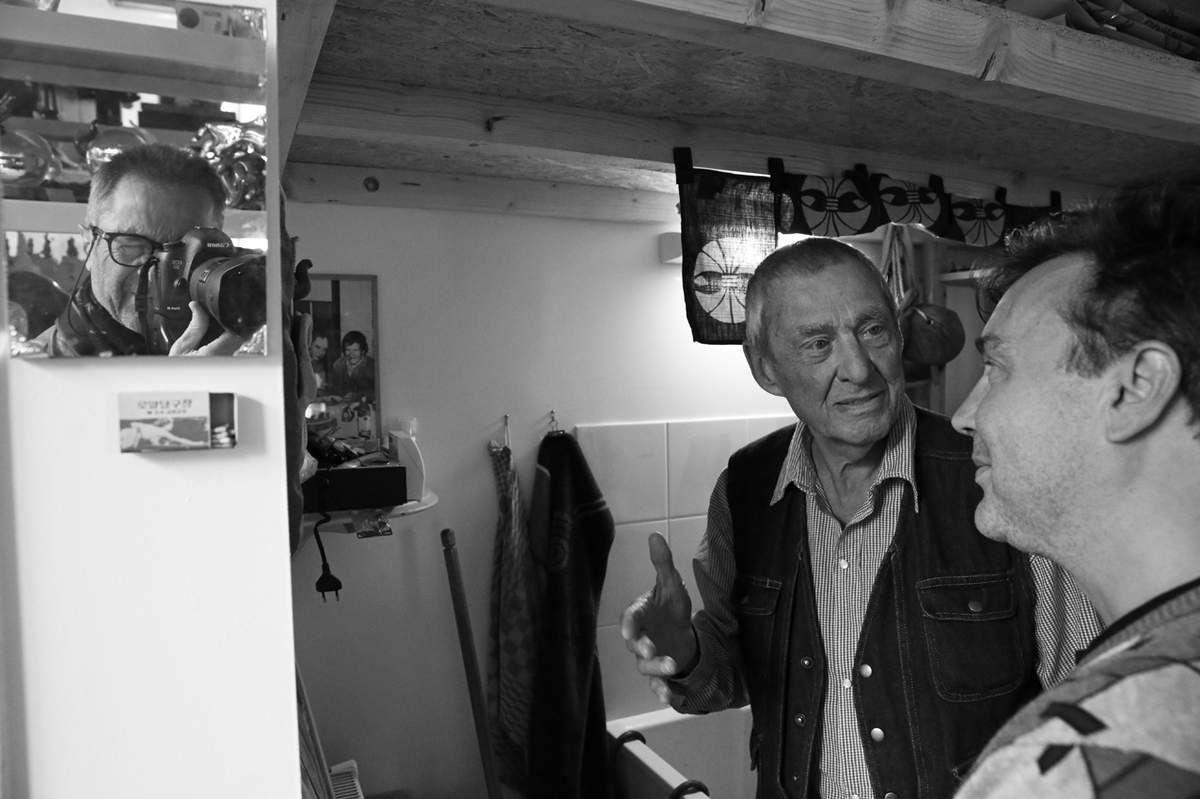 Michel Lunardelli, Mark Brusse, Renaud Faroux