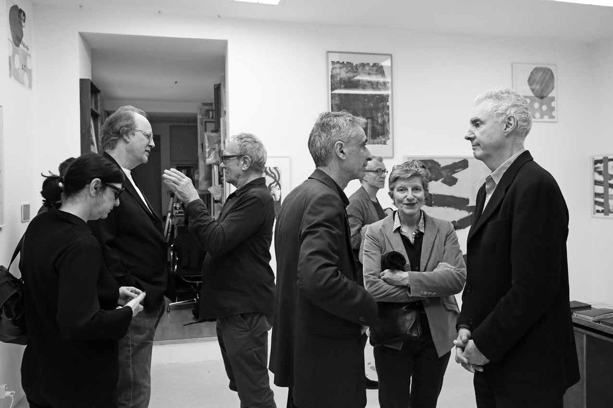 Laurie Hurwitz, Michael Woolworth, Christian Aubert, Jean François Maurige, Inconnu, Katia Séchas, Alain Séchas