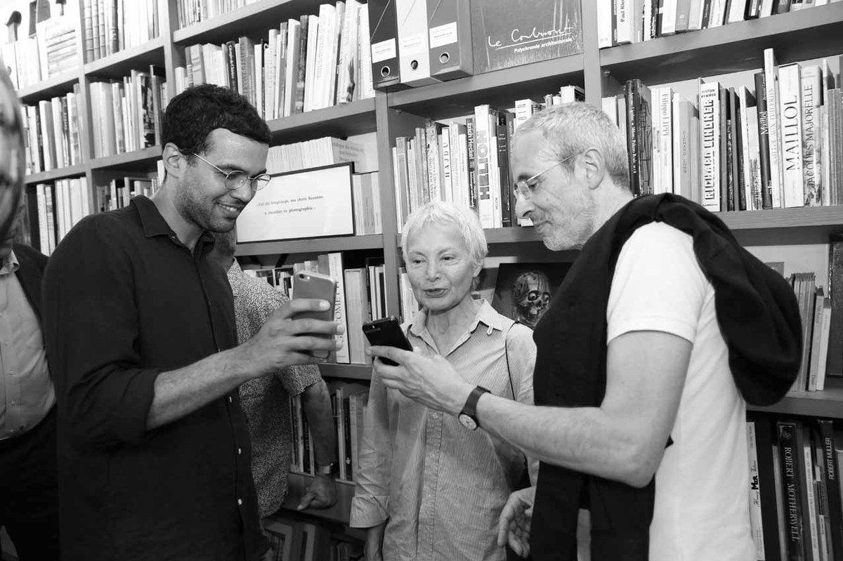 Monsieur Marin, Olga Luna, Philippe Marin