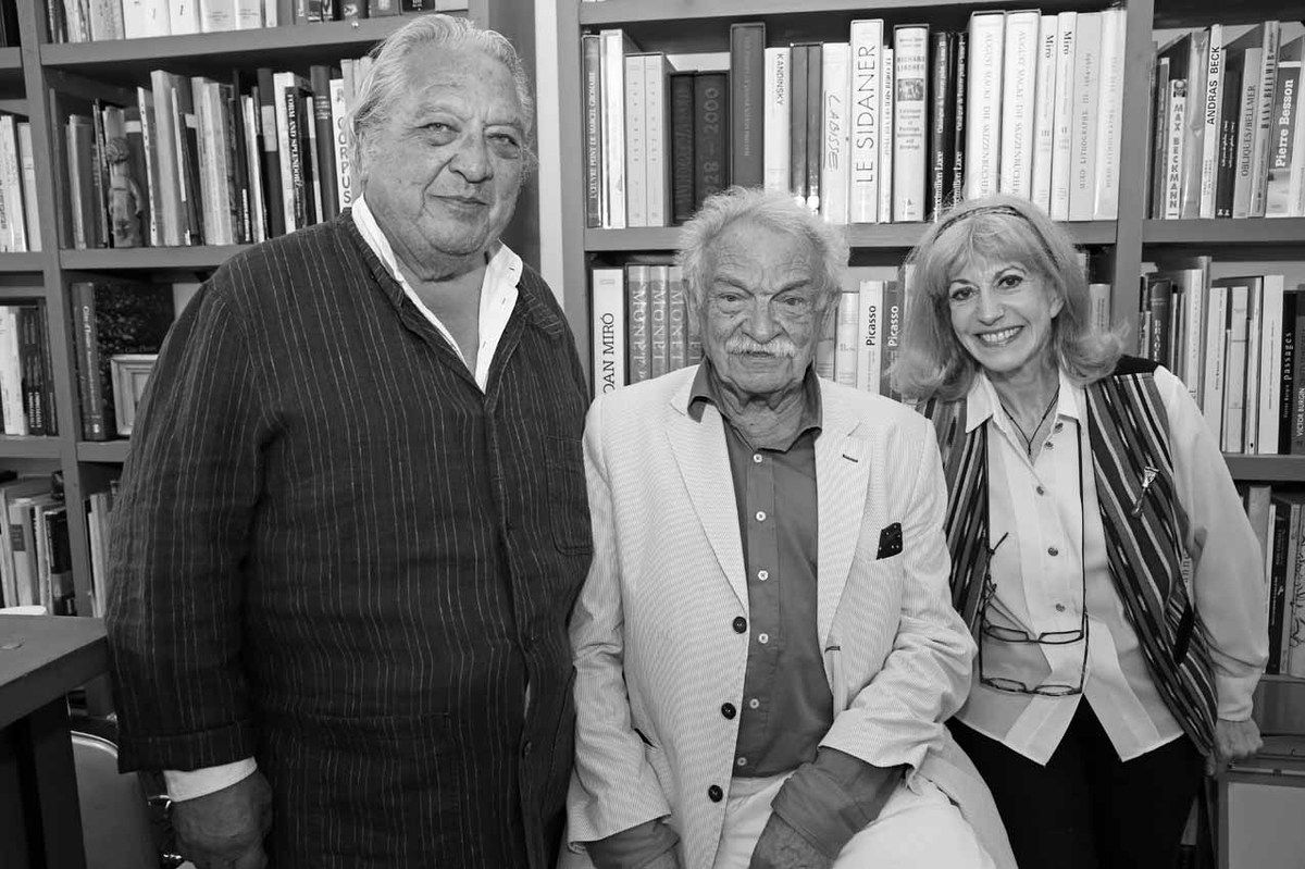Luis Mizon, Antonio Segui, Tita Reut