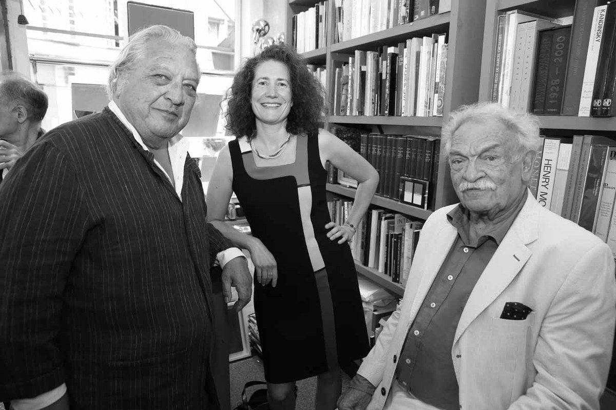 Luis Mizon, Catherine James, Antonio Segui