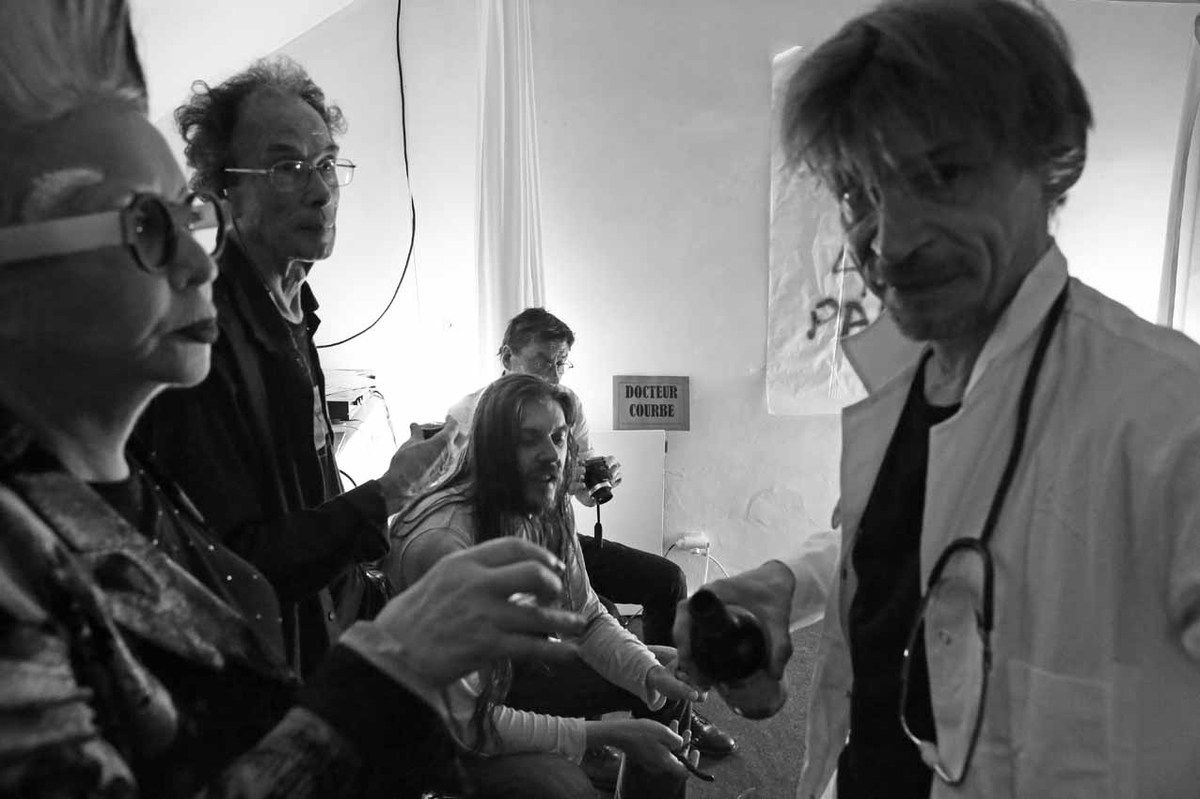 Orlan, Jacques Donguy, Inconnu, Alain Snyers, Dr Courbe