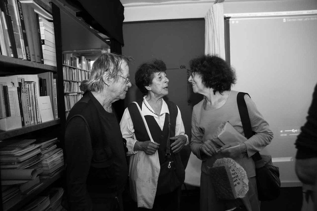 Richard Martel, Esther Ferrer, Mathilde Ferrer