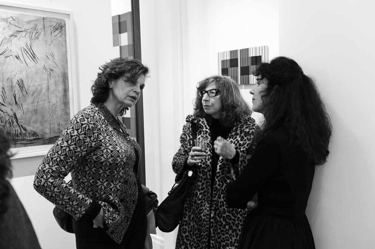 Christine Séfolosha, Joanna Flatau, Marie-Hélène de La Forest Divonne
