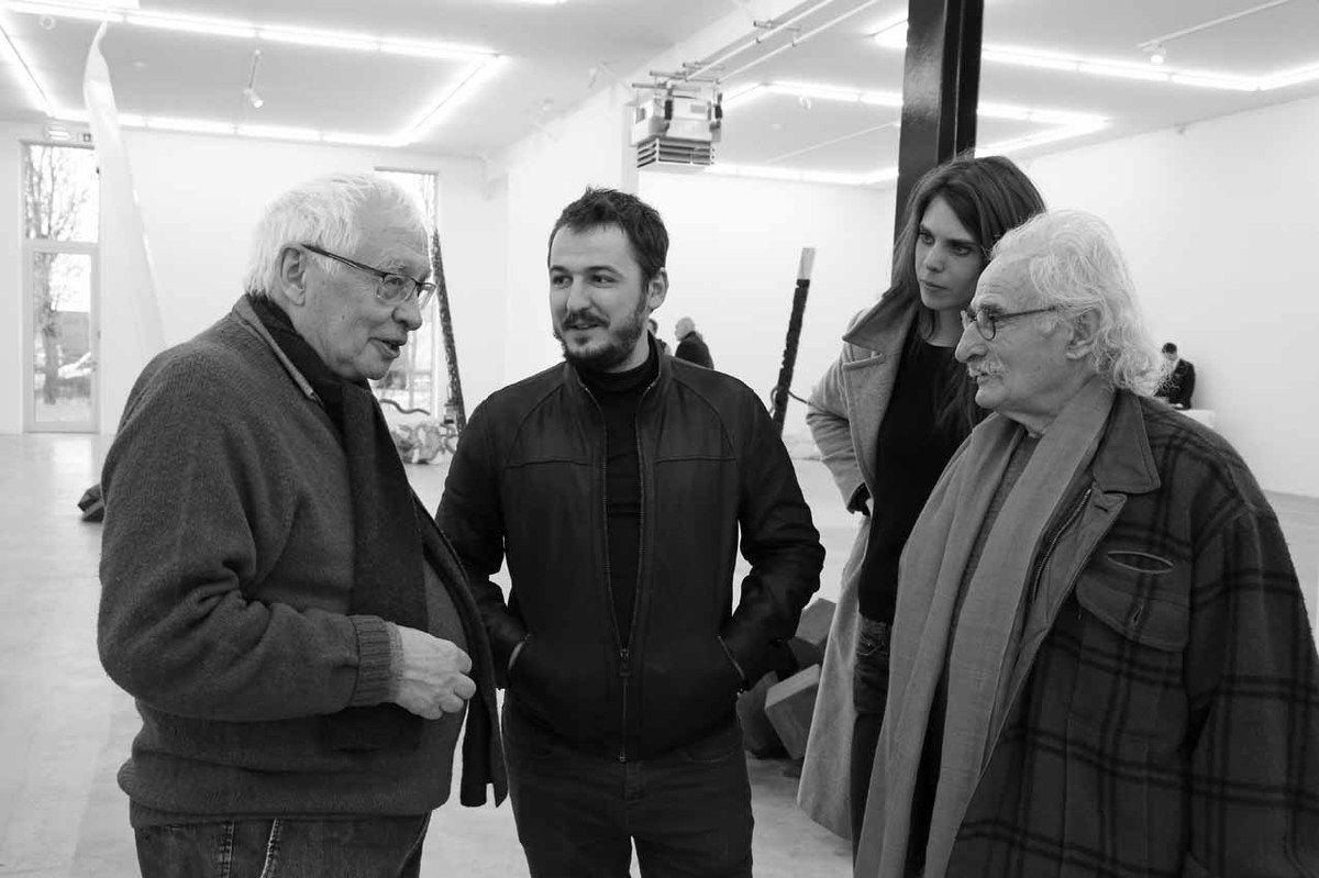 Bernard Ceysson, David Raffini, Inconnue, Bernard Pagès