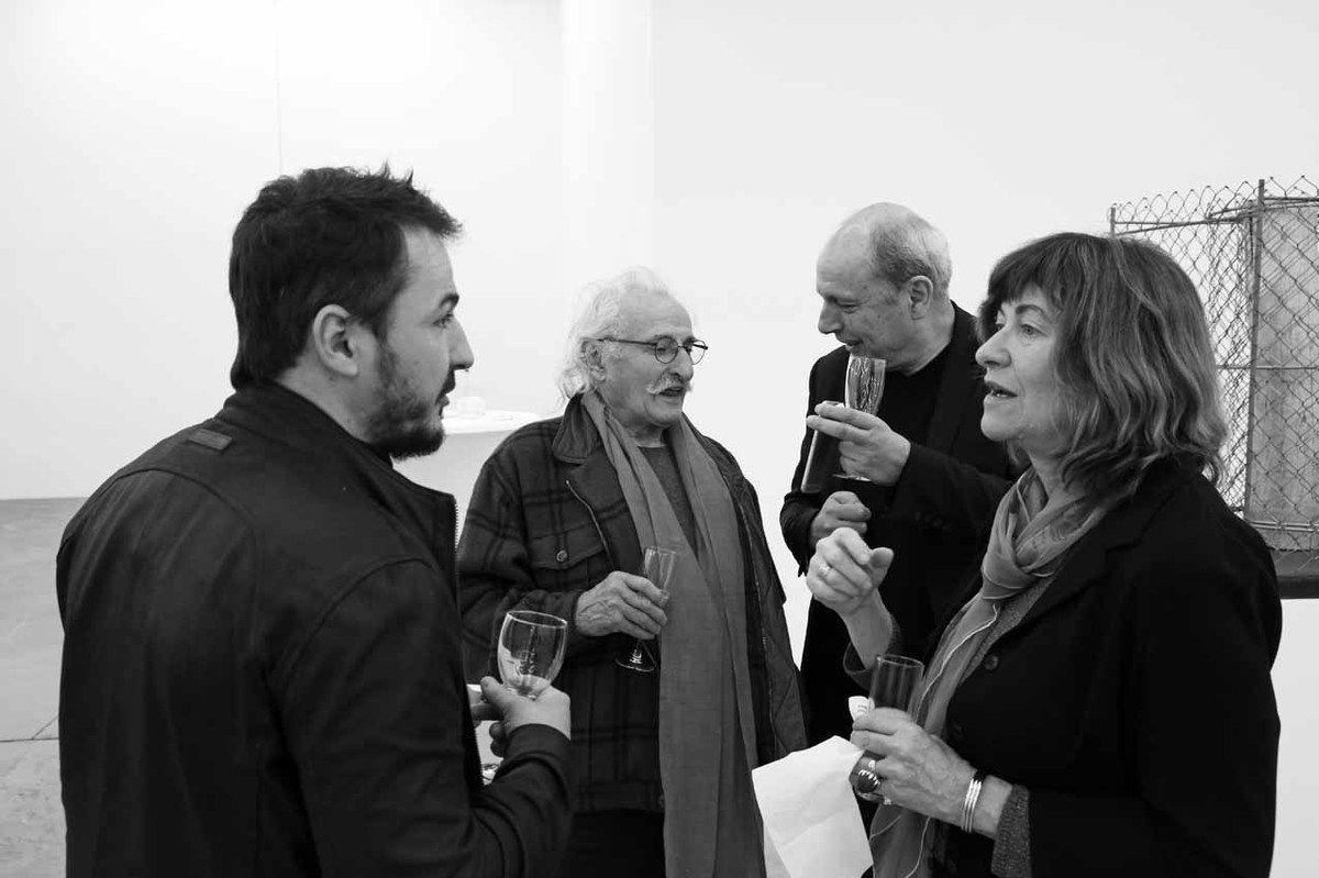 David Raffini, Bernard Pagès, Marc Barani, Maryline Desbiolles