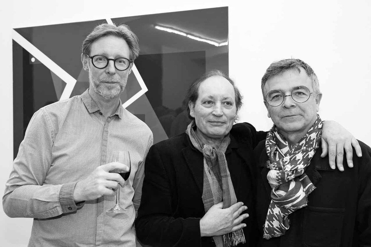 Guillaume Nogacki, Marc Couturier, Fabrice Hyber