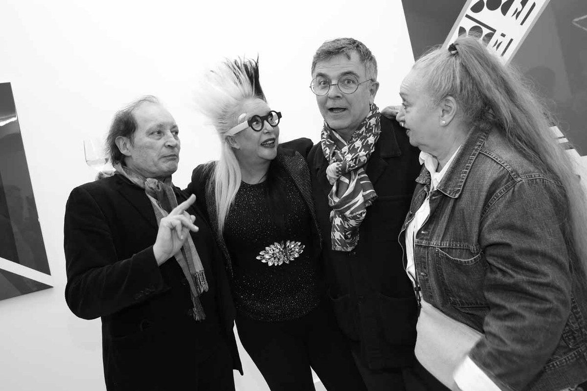 Marc Couturier, ORLAN, Fabrice Hyber, Arlette Couturier