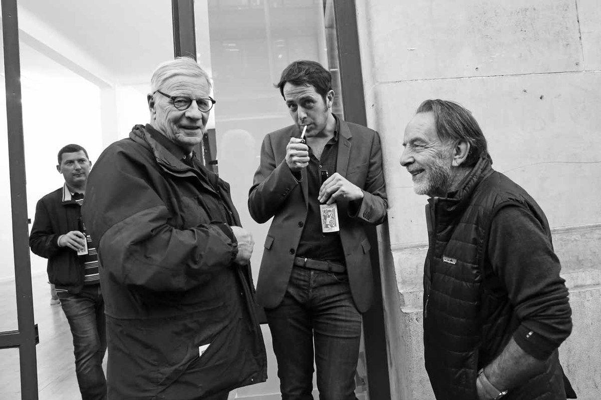 Louis Cane, Loïc Bénétière, Noël Dolla