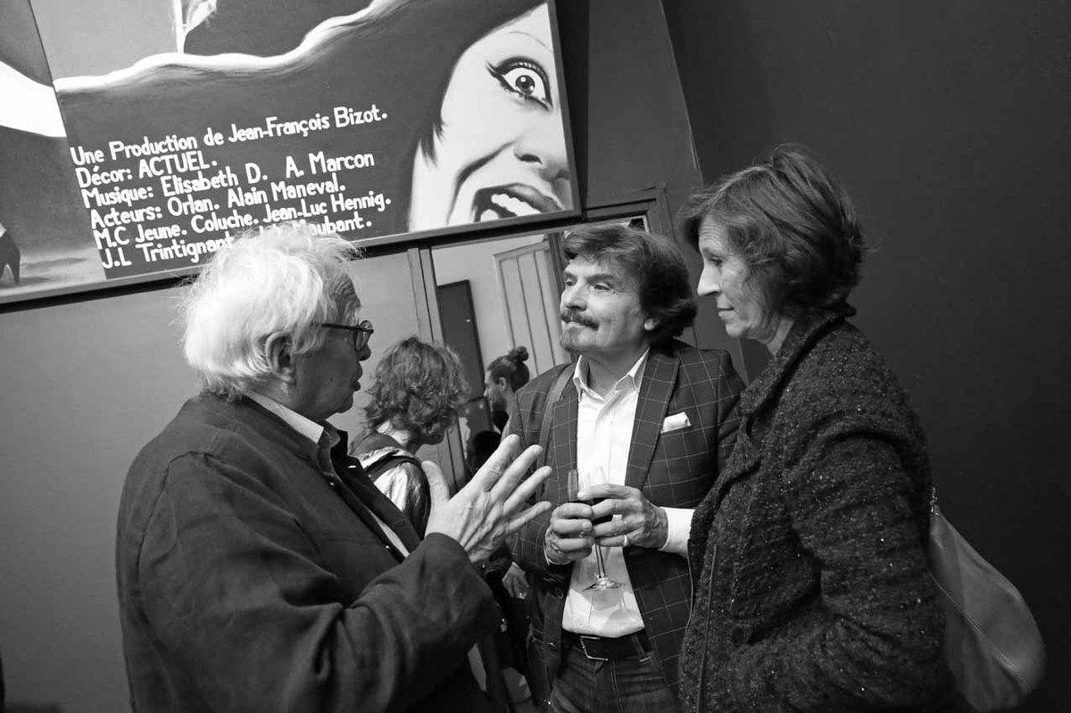 Bernard Ceysson, Thierry Raspail, Catherine Raspail