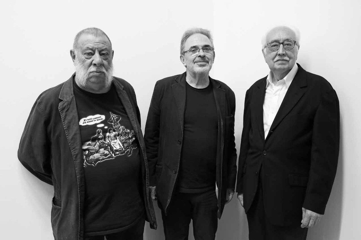 Bernard Morteyrol, Robert Bonaccorsi, Joan Rabascall