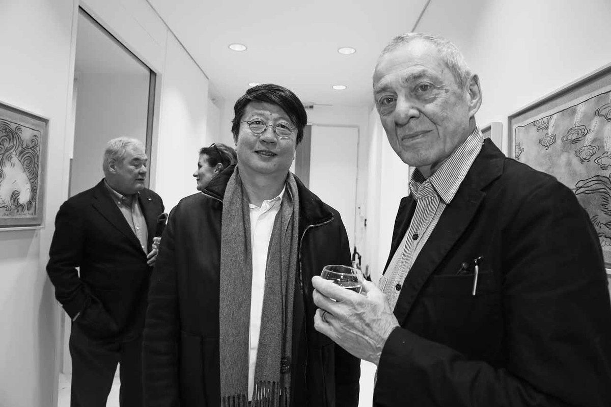 Patrick Bongers, Wang Yan Cheng, Mark Brusse