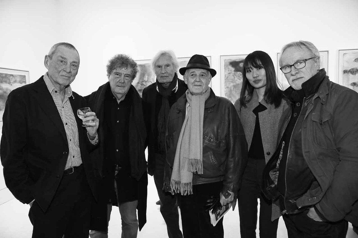 Mark Brusse, Pierre Zanzucchi, Peter Klasen, Gérard Xuriguéra, Inconnue, Claude Gesvret