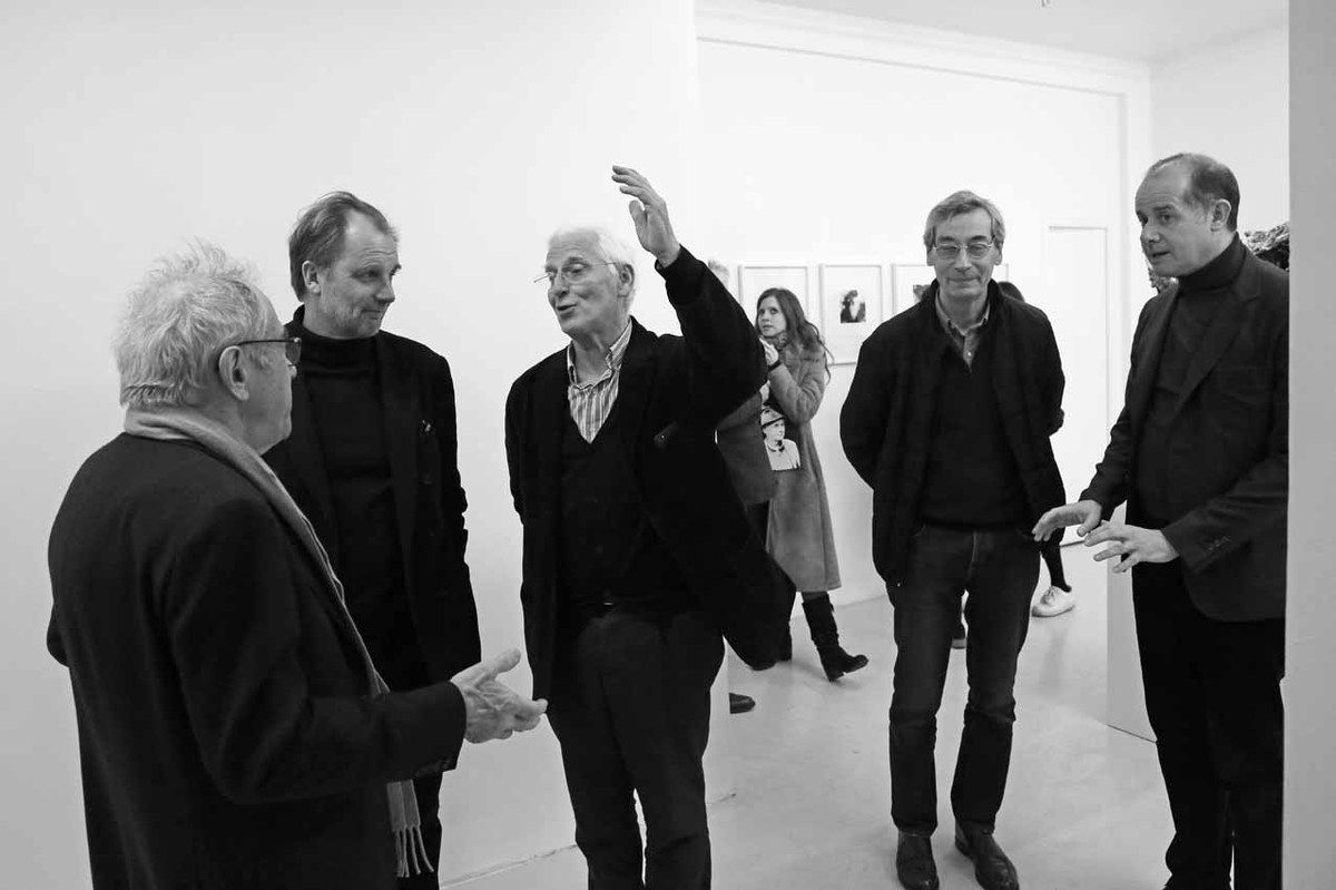 François Fraiburger, Thierry Consigny, Jean Brolly, Alfred Pacquement, Pierre-Alexis Dumas