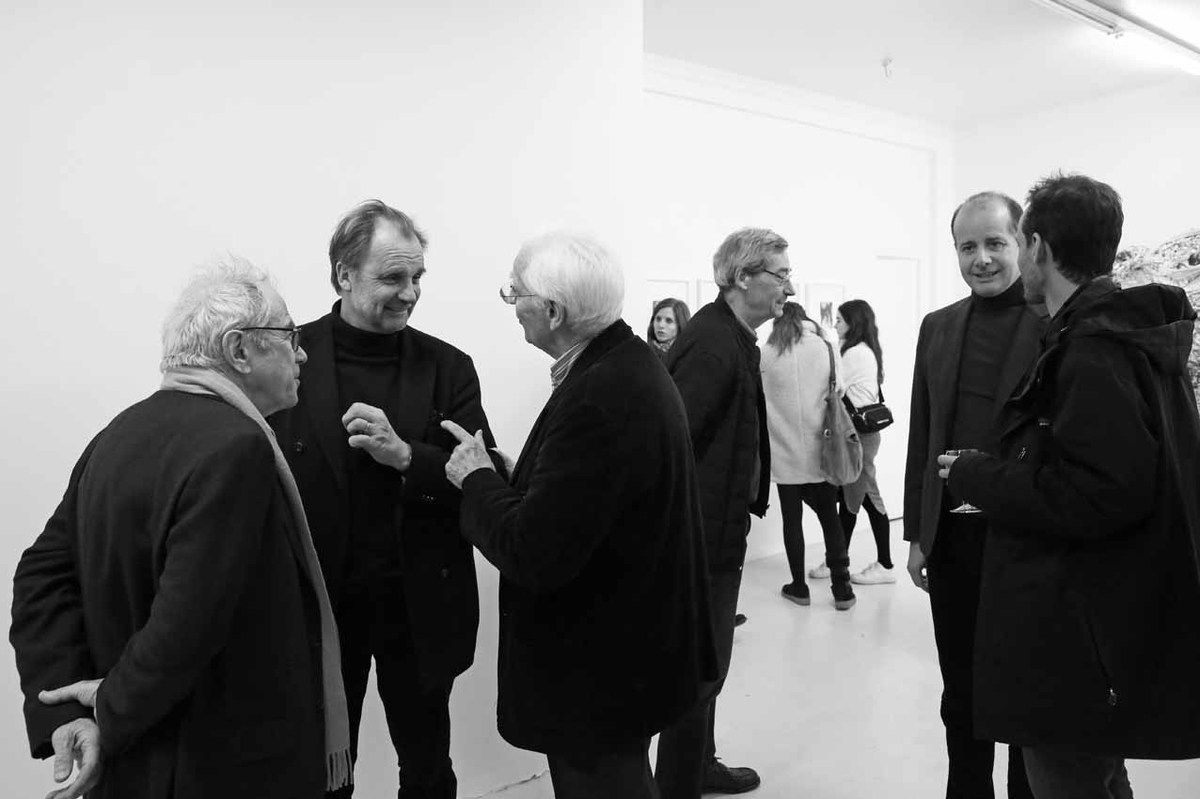 François Fraiburger, Thierry Consigny, Jean Brolly, Alfred Pacquement, Pierre-Alexis Dumas, Tadzio