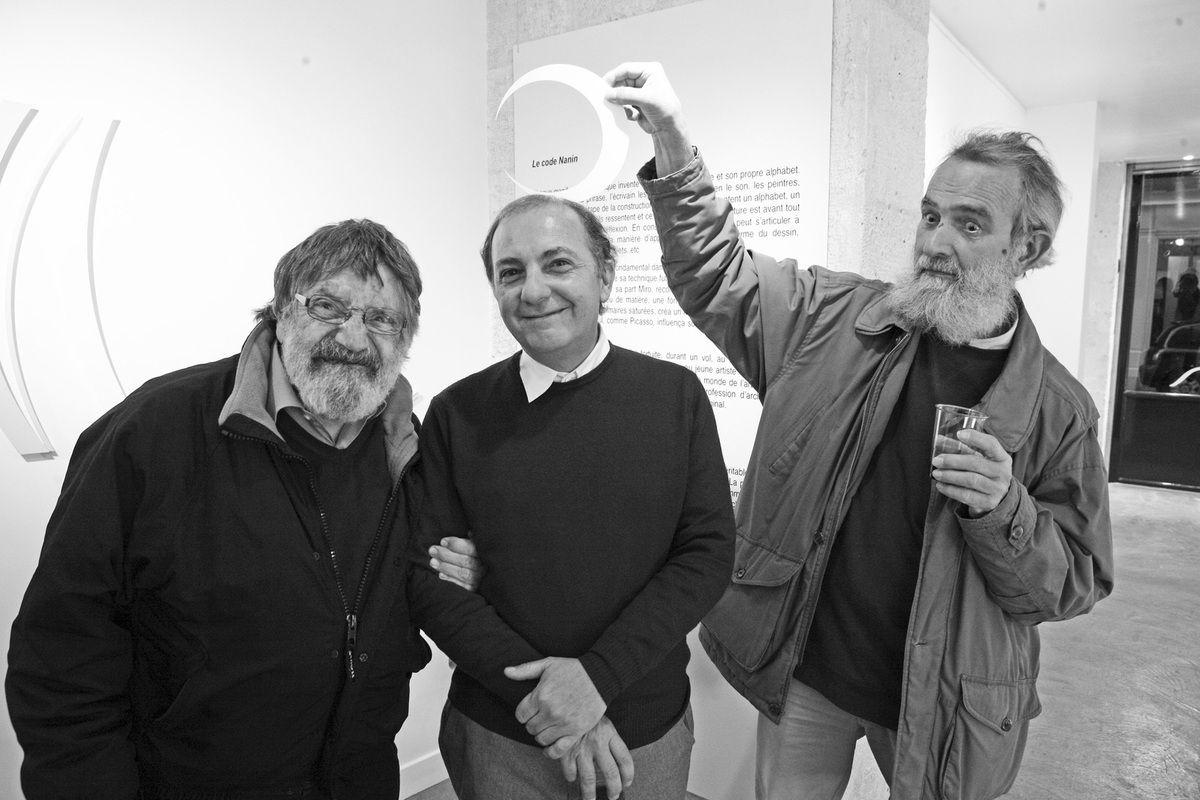 Carlos Cruz-Diez, Jose-Armando Nanin, Francisco Salazar. Galerie Meyer Zafra. Paris le 19 octobre 2008