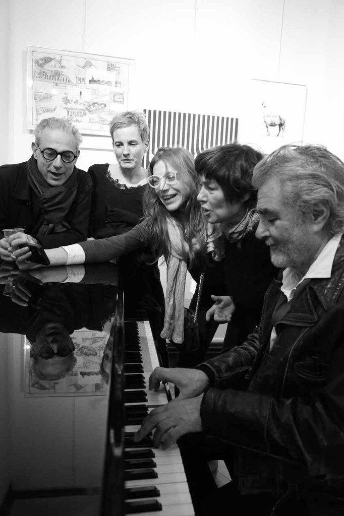 Pablo Katz, Christine Seghezzi, Belén Roncoroni, Marcela Gomez, Ruben Alterio