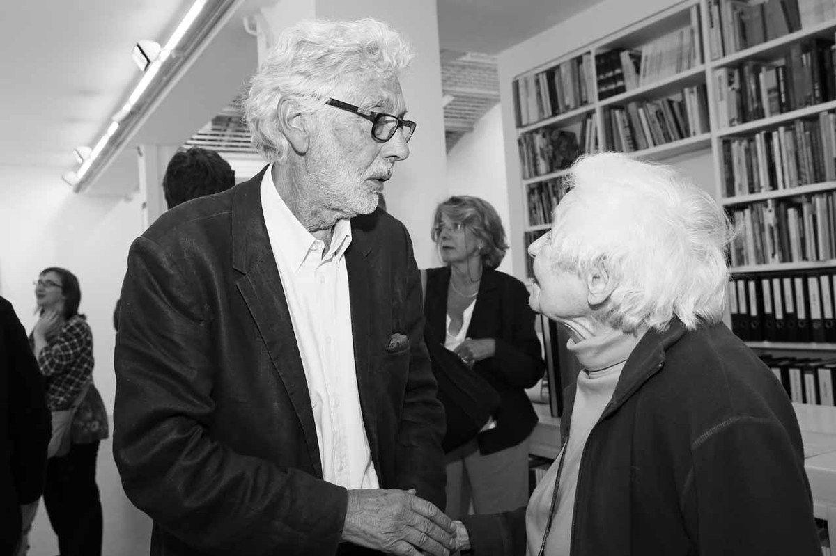 Pierre Buraglio, Shirley Jaffe