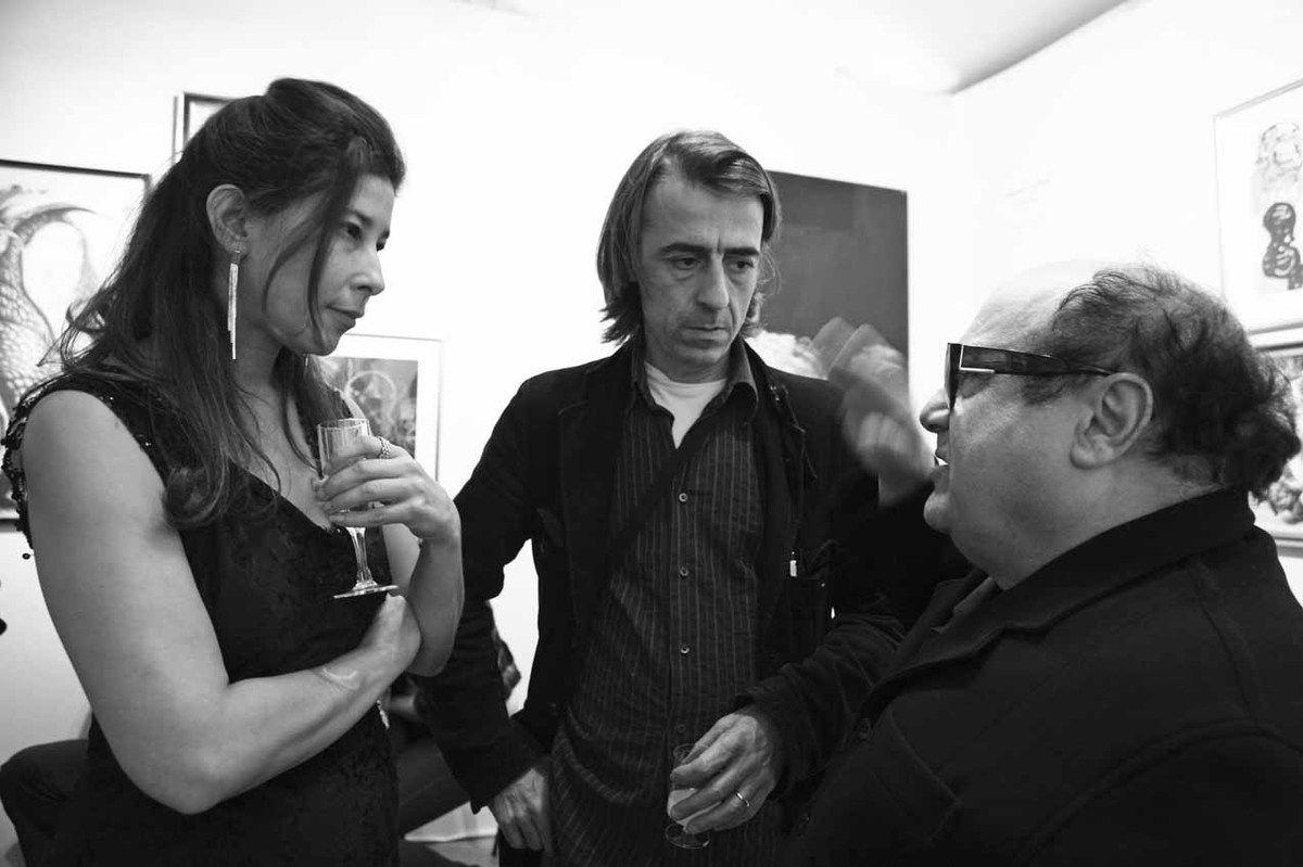 Deborah Zafman, Marcos Carrasquer, Danny DeVito