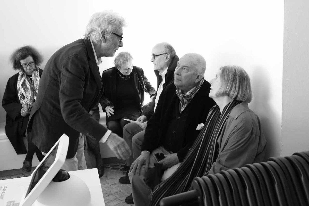 Pierre Buraglio, Vincent Bioulès, Rosa Bioulès