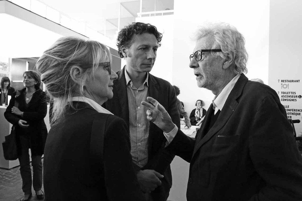 Dominique Aris, Romain Mathieu, Pierre Buraglio