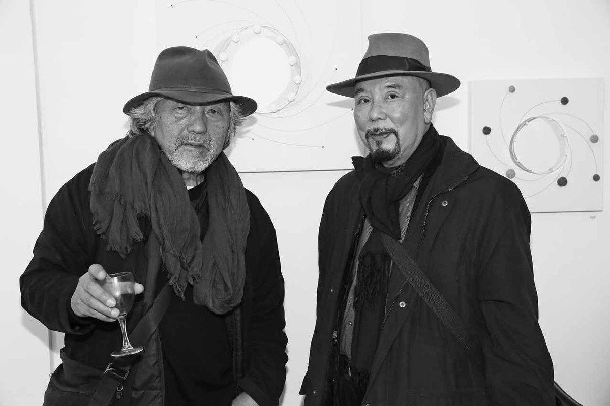 Kishida Katsuji, Haruhiko Sunagawa. Galerie Grand Eterna. Paris le 4 décembre 2015