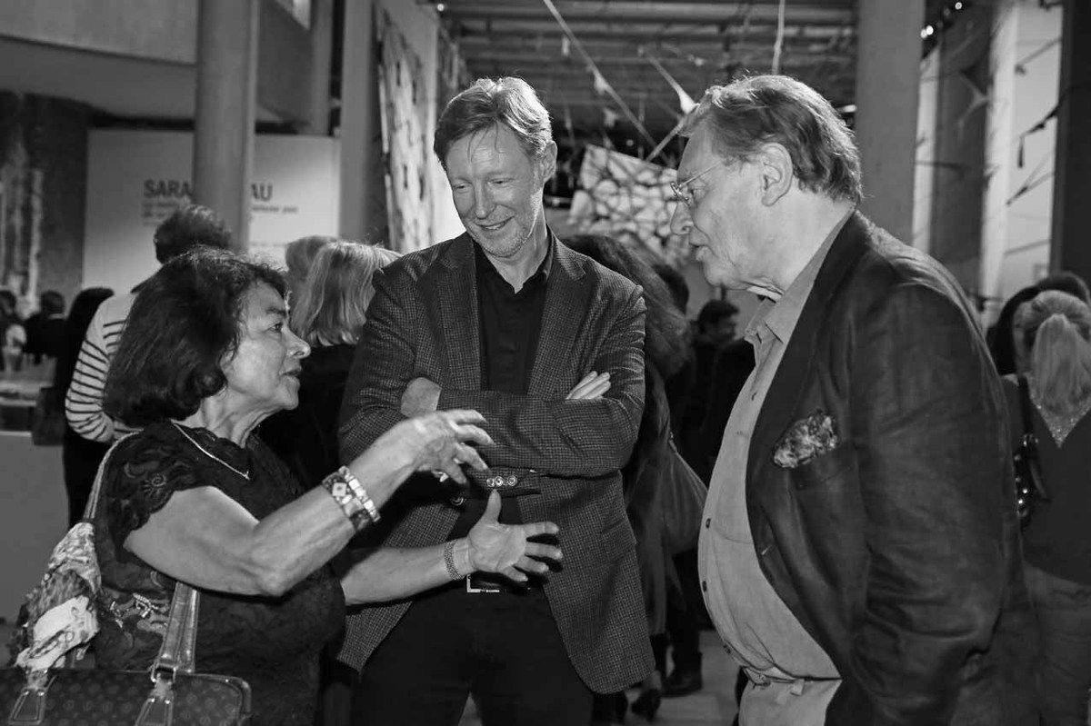 Danielle Ghanassia, Guillaume Nogacki, Gérard Garouste