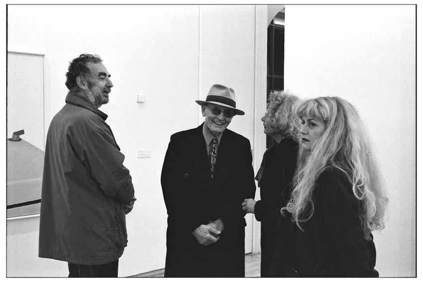 Thierry Spitzer, Jacques Monory, Marie Haddou-Spitzer, Paule Monory