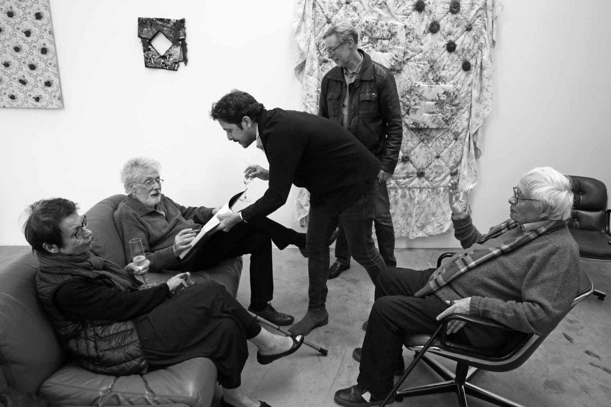 Inès Champey, Patrick Saytour, Loïc Bénétière, Guillaume Nogacki, Bernard Ceysson
