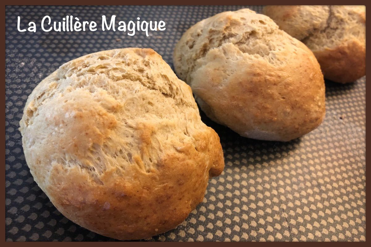 Petits pains express Thermomix