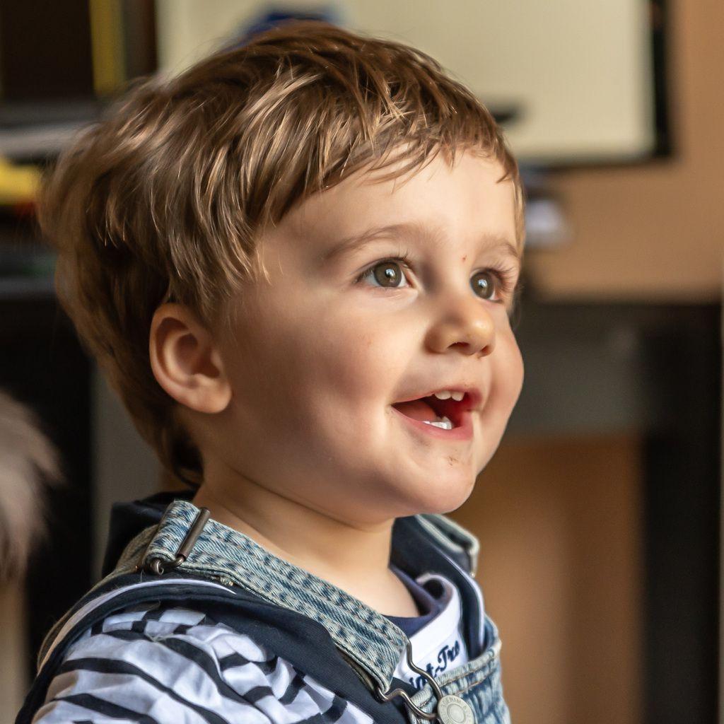 Alistair bientôt deux ans!