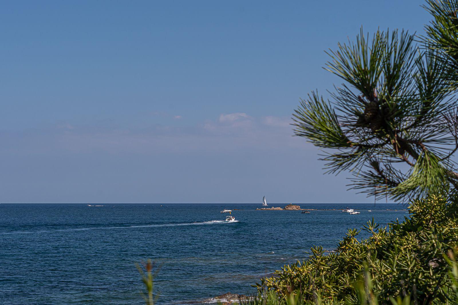 Sur le sentier du littoral tropézien en famille, de la plage des Canoubiers à la plage de la Moutte