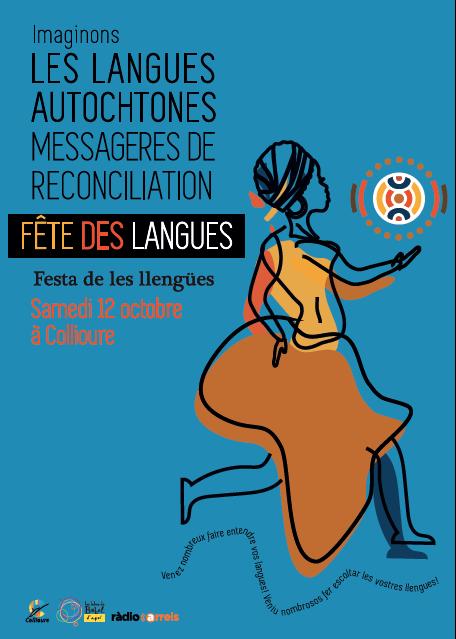 Expo à 100mètres... le 11 octobre 2019 - Fête des langues à Collioure - Cerises à Céret (photo J.P.B.) -