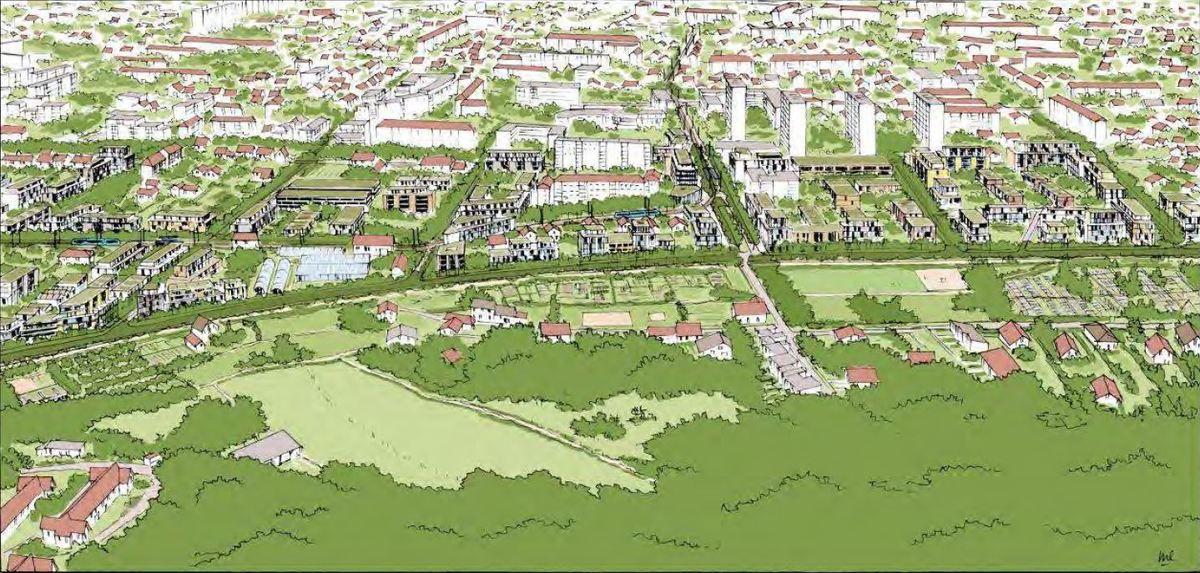 Les images et plans présentés par la Ville sont non contractuels.