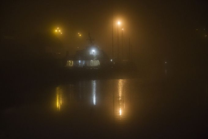Granville : Nuit et brouillard d'automne