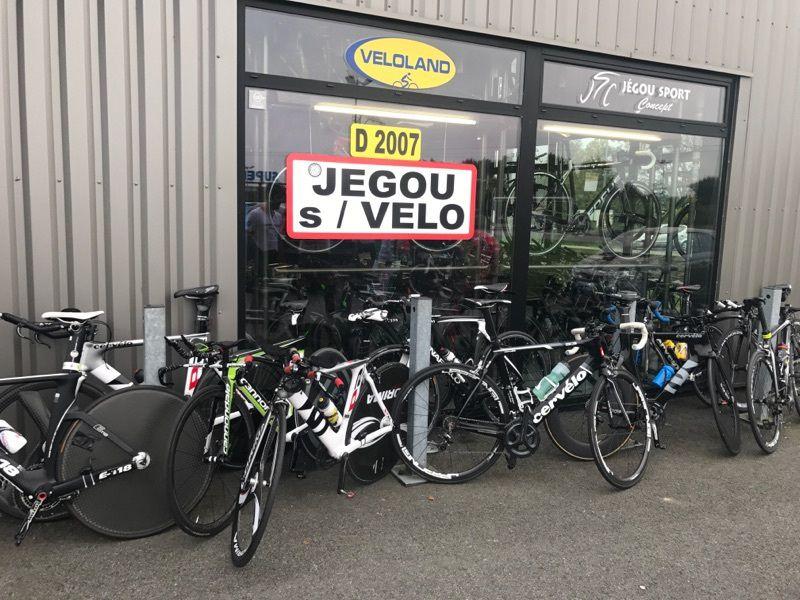 Beaucoup de vélos CLM au RDV su Mag aujourd'hui