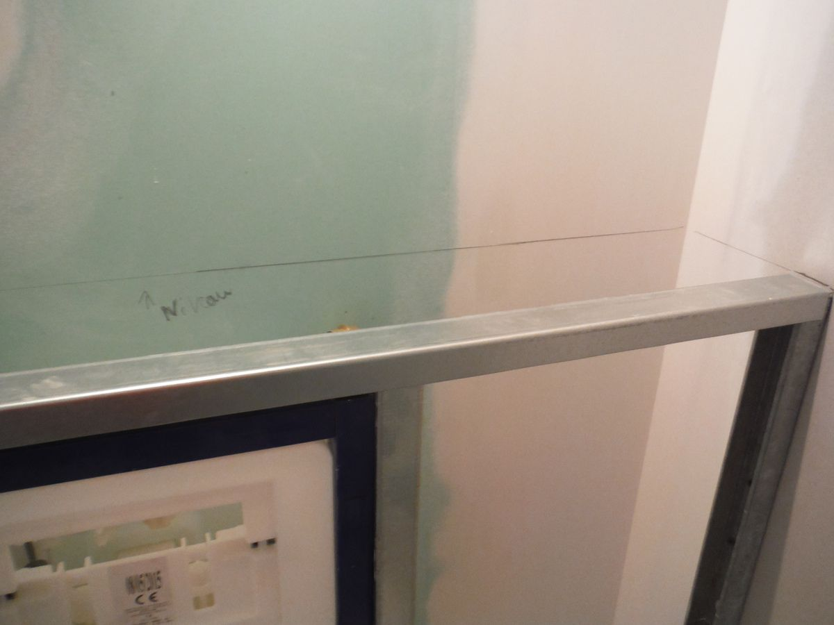 Comment Installer Toilette Suspendu faire le coffrage en placo d'un wc suspendu! - rénover soi