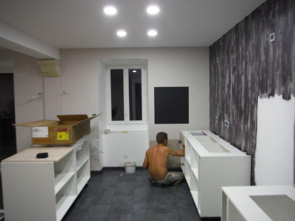 Porte Cuisine Montée Sur Cadre monter une cuisine soi-même! - rénover soi-même une maison