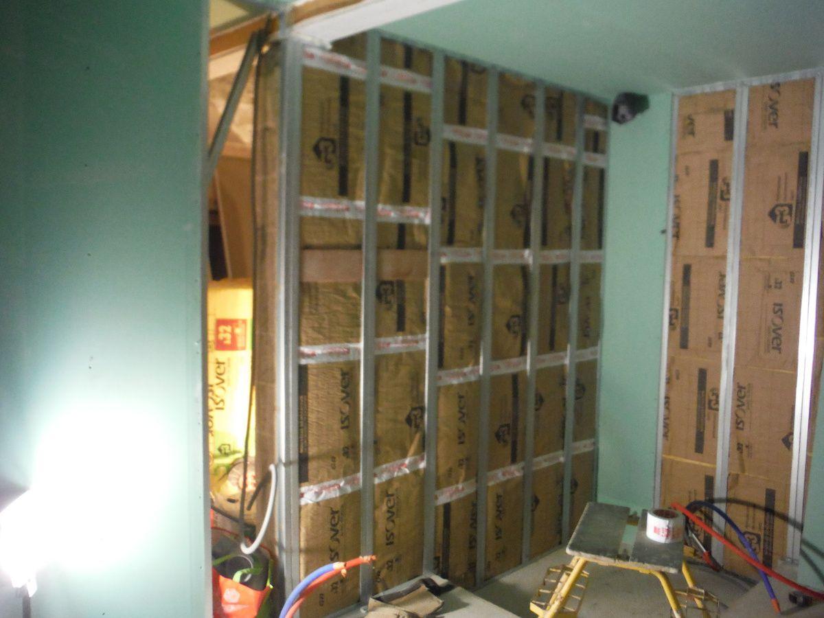 Cloisons et isolations des murs extérieurs!
