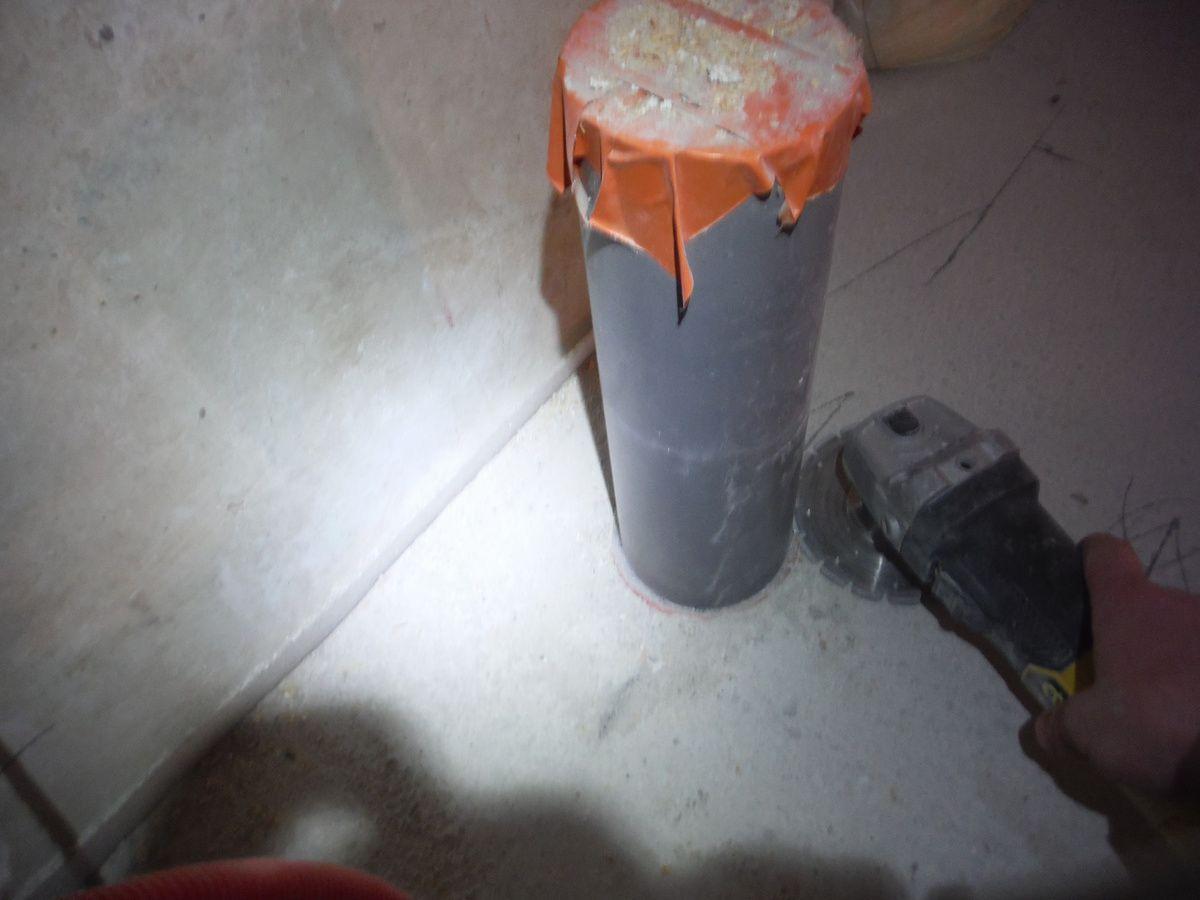 Isolation du plafond de la dernière partie du rez de chaussée!