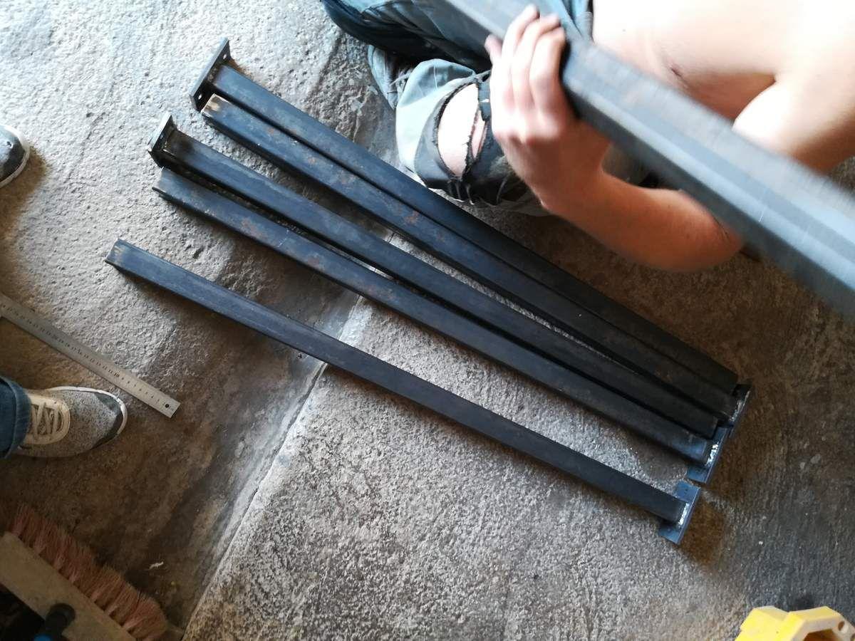 En direct: création d'une rembarde d'escalier !