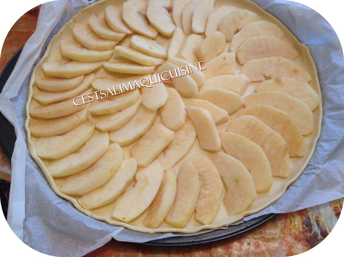 Tarte aux pommes fine