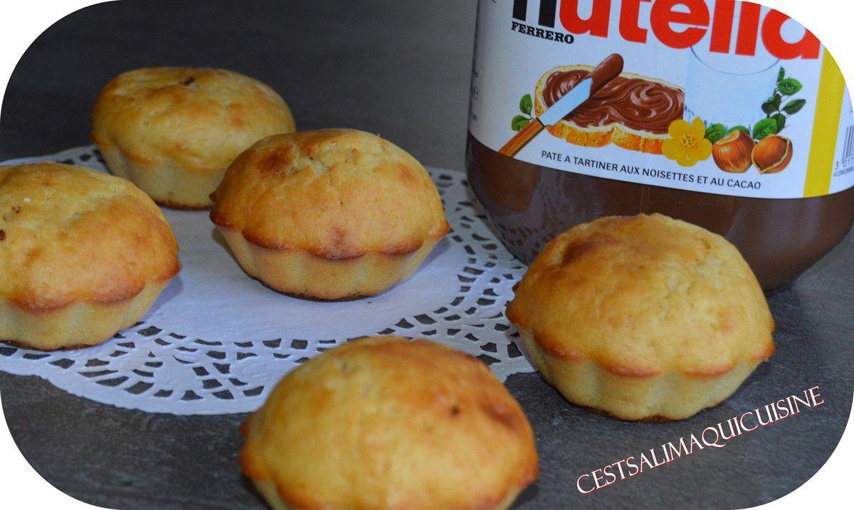 Muffins coeur de Nutella®
