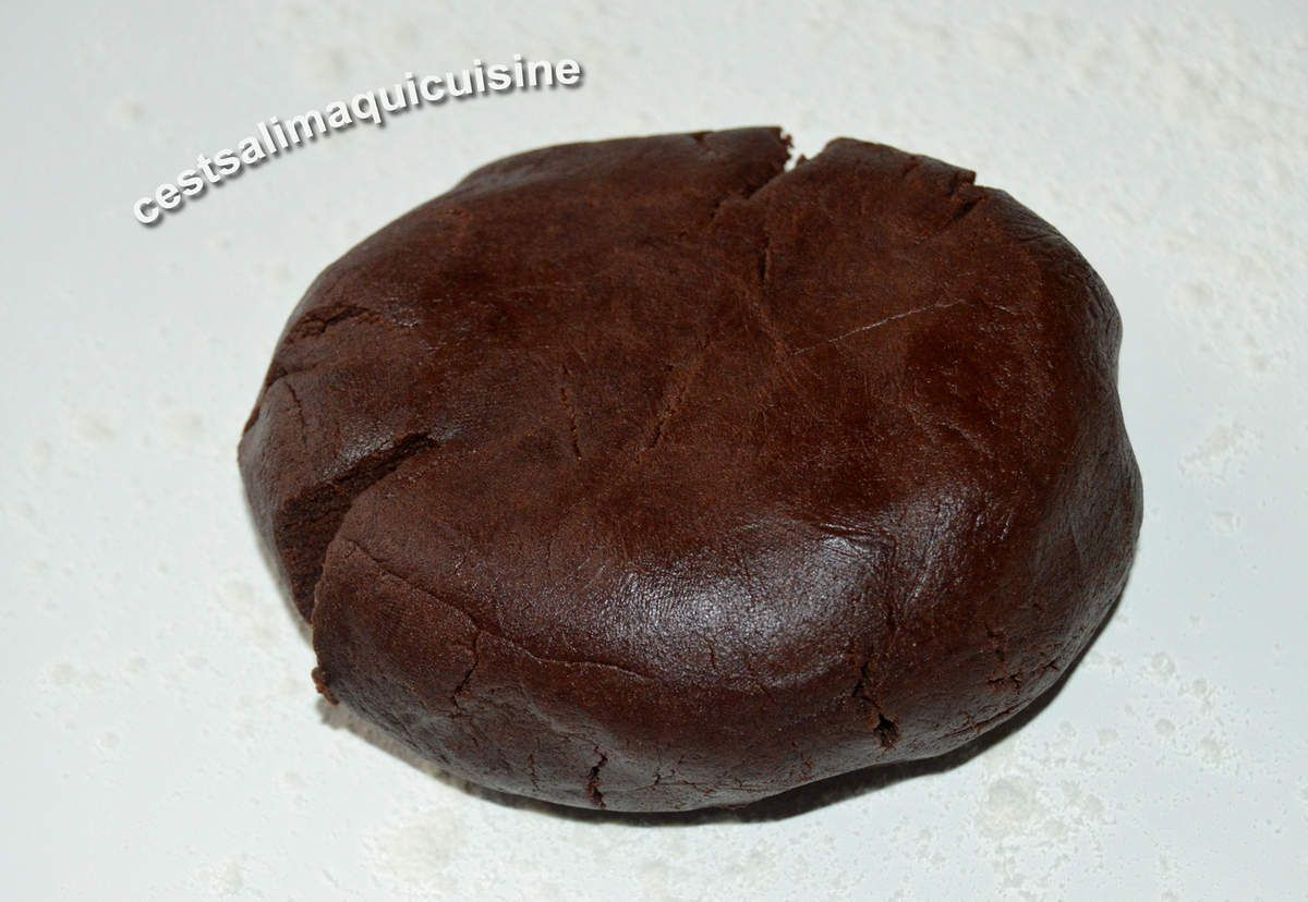 Tartelettes au cacao et lemon curd