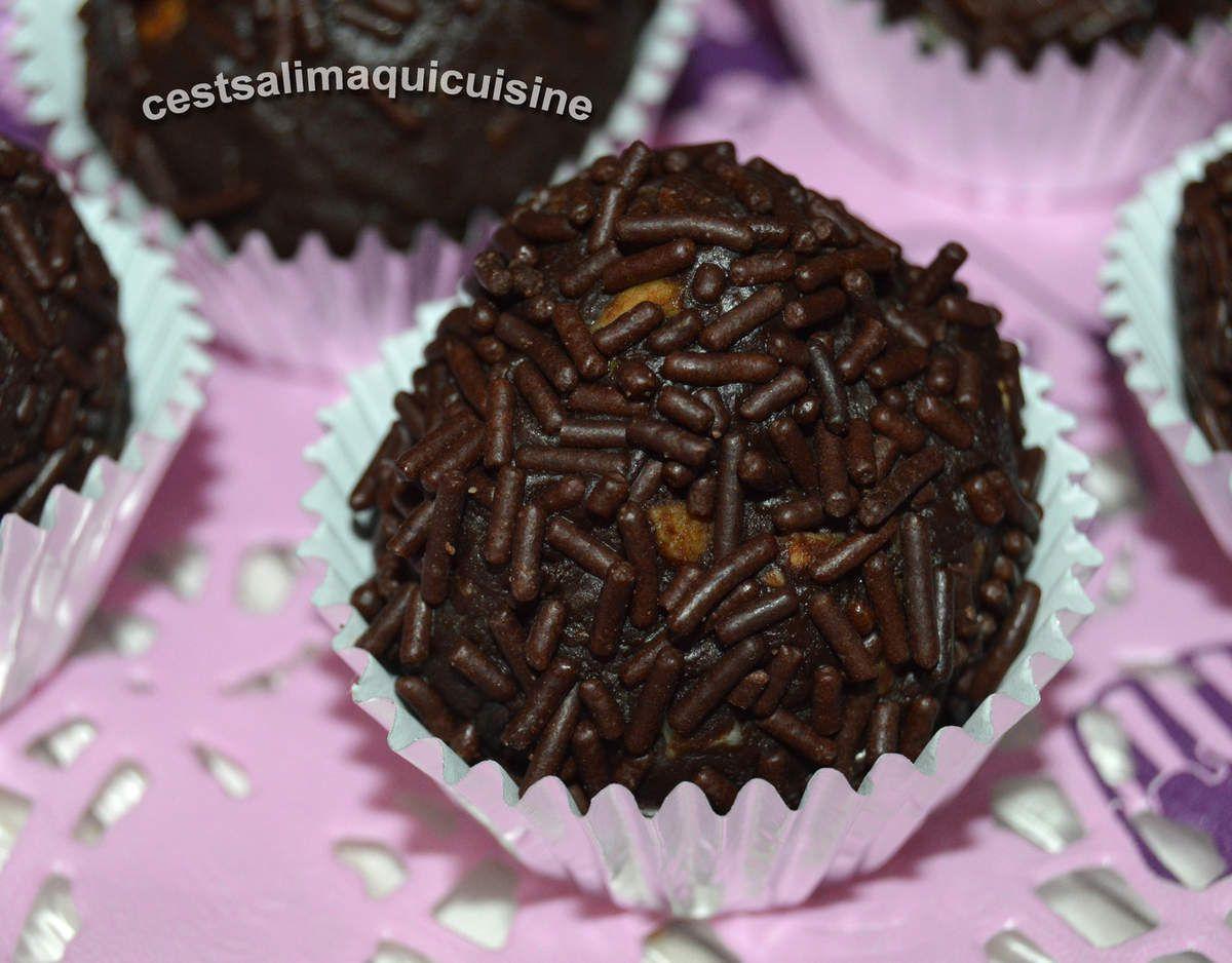 Bouchées au chocolat