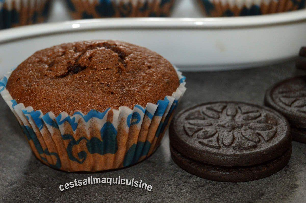 Muffins cachés aux Oréos