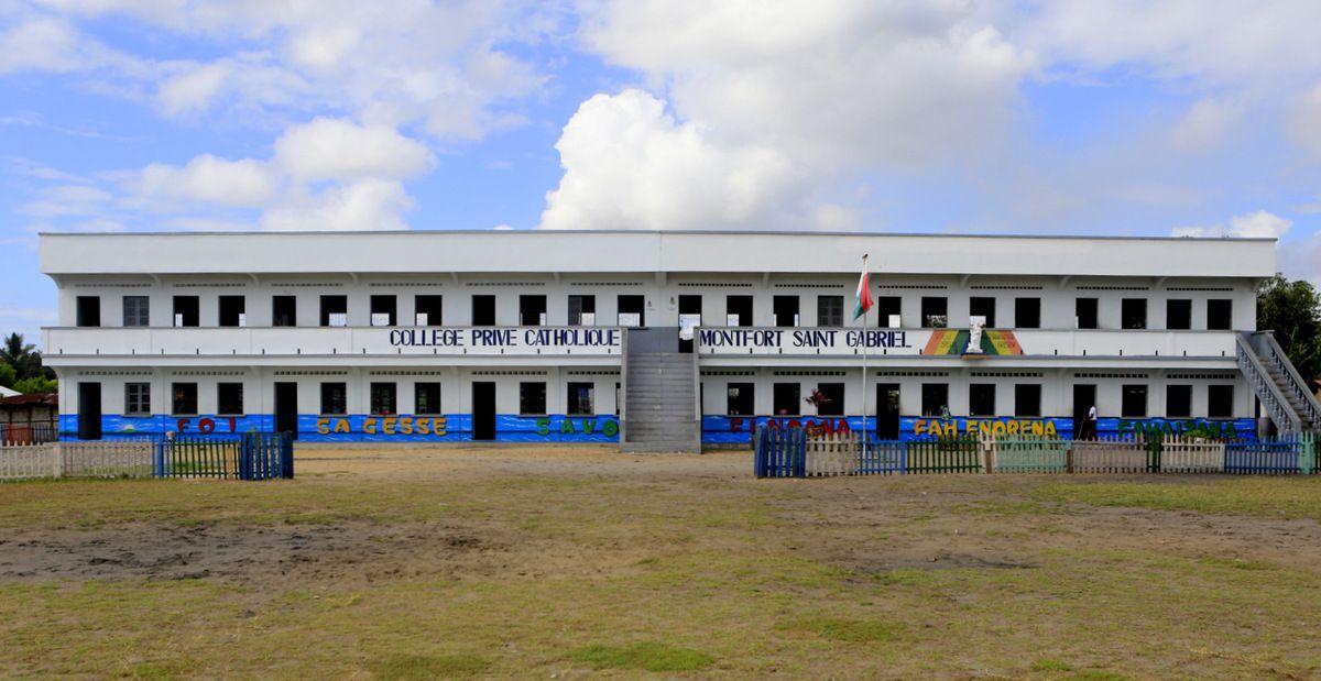 L'école Montfort Saint Gabriel.