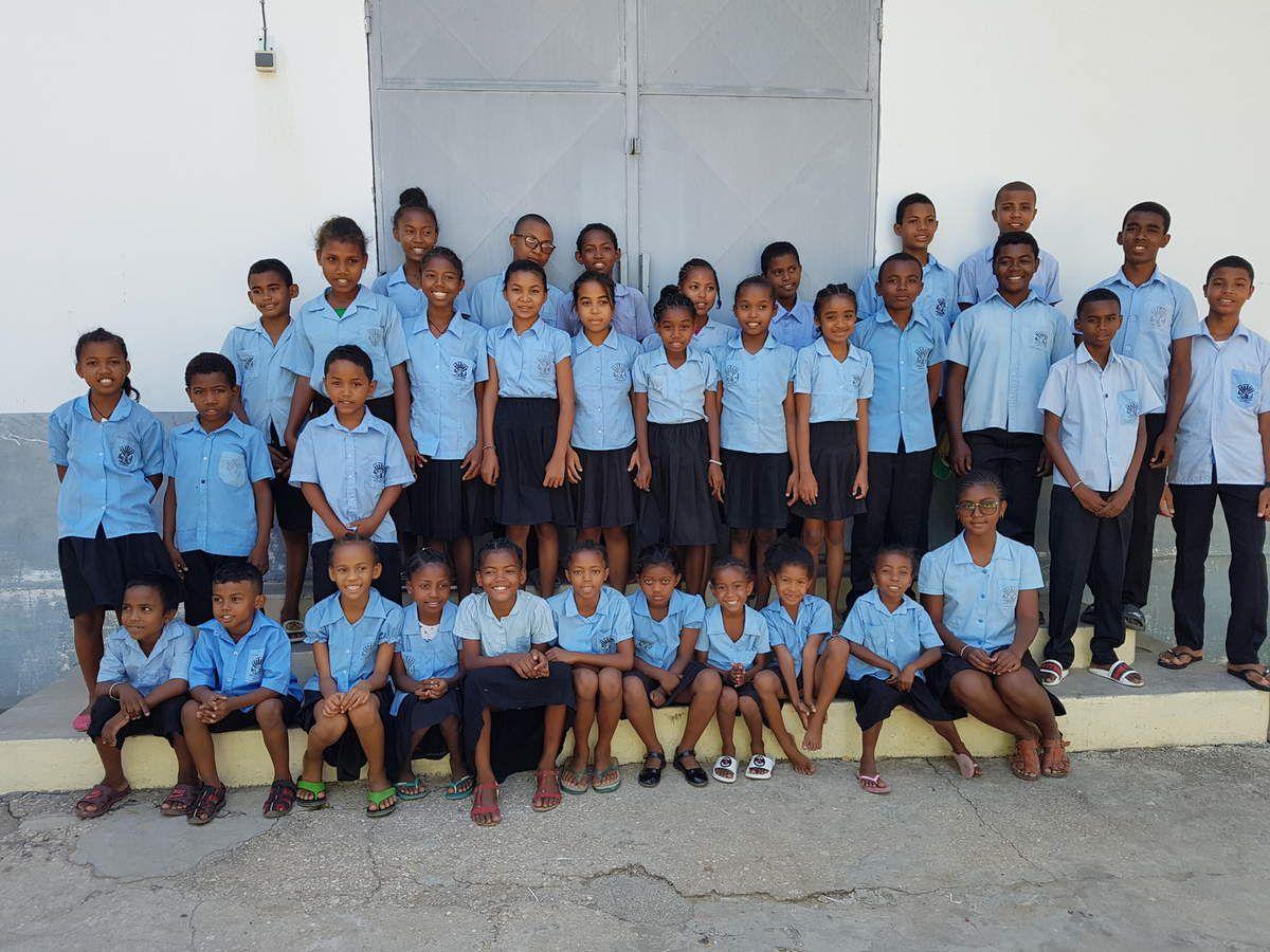 Une partie des 60 enfants parrainés en collectif.