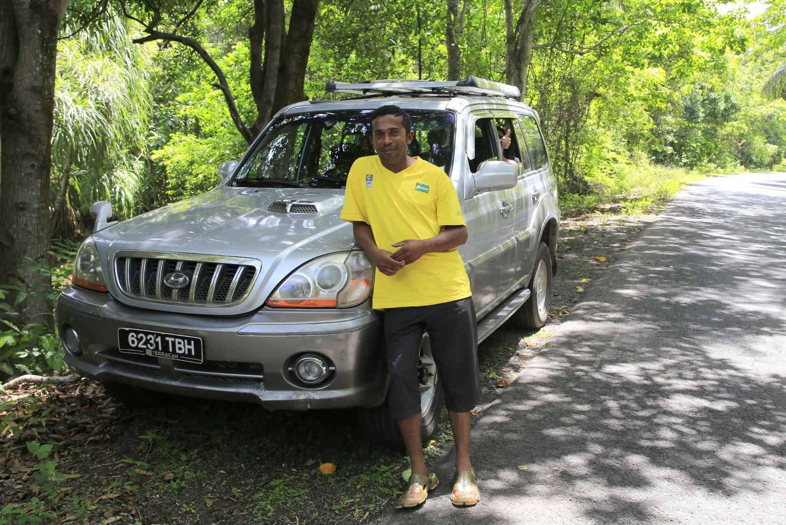 Rajo, notre excellent chauffeur