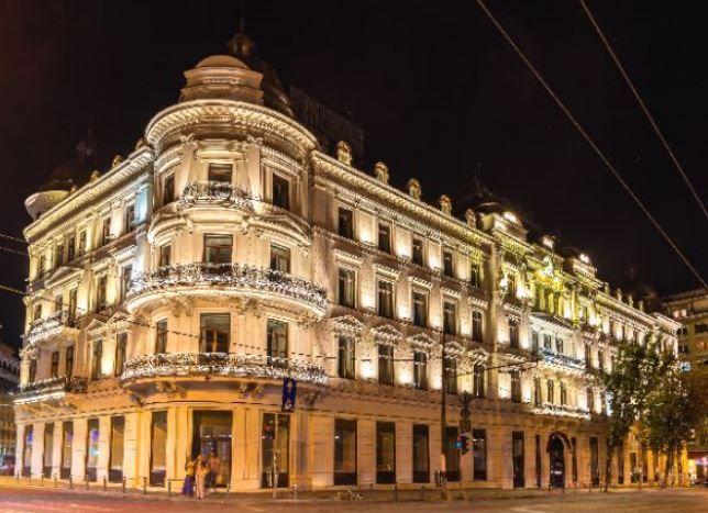 Roumanie 2018, information open source, publication économique, journal économique, Bucarest, Groupe NIRO, secteur de l'hôtellerie, HORECA, enseigne Corinthia, rénovation, transformation Grand Hotel du Boulevard, www.jfcontact.ro
